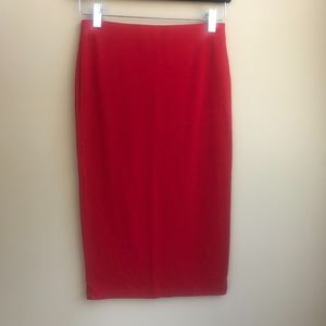 9ba2951f02 Forever 21 Skirts - Forever 21 Women's Small Bright Red Bodycon Skirt